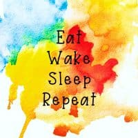 eat wake sleep repeat picture