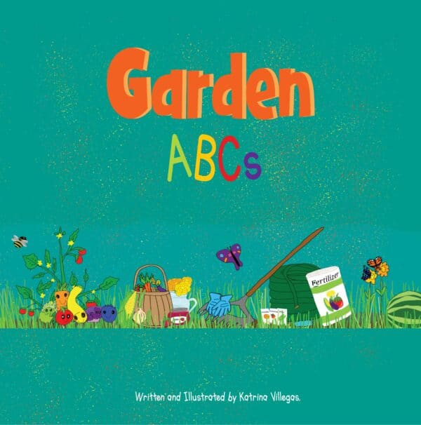 Garden ABCs children's book